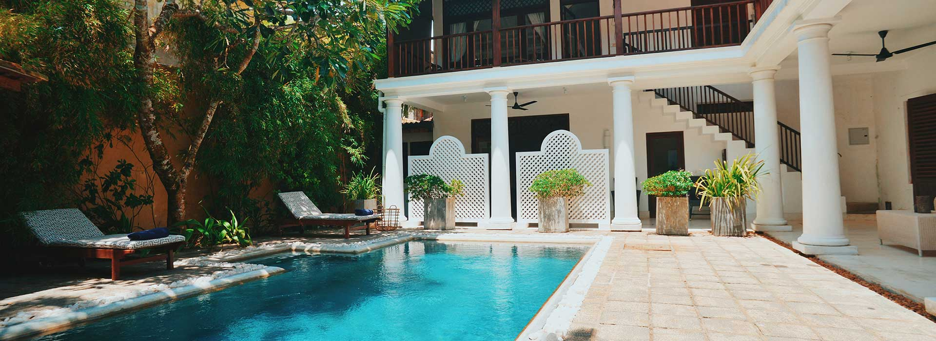 Swimming Pool at 32 Middle Street Galle