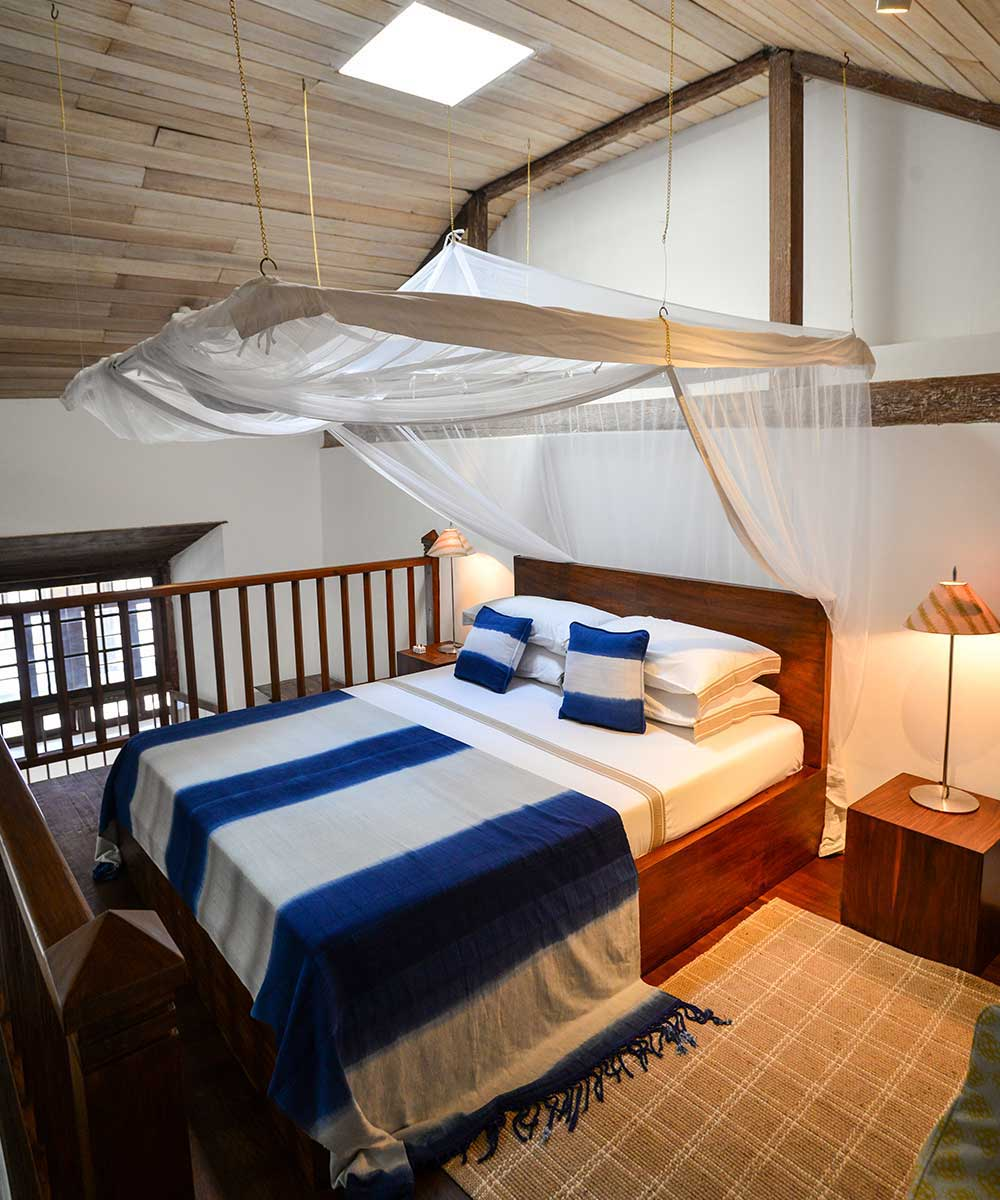 Luxury Bedding at 32 Middle Street in Galle Fort Sri Lanka