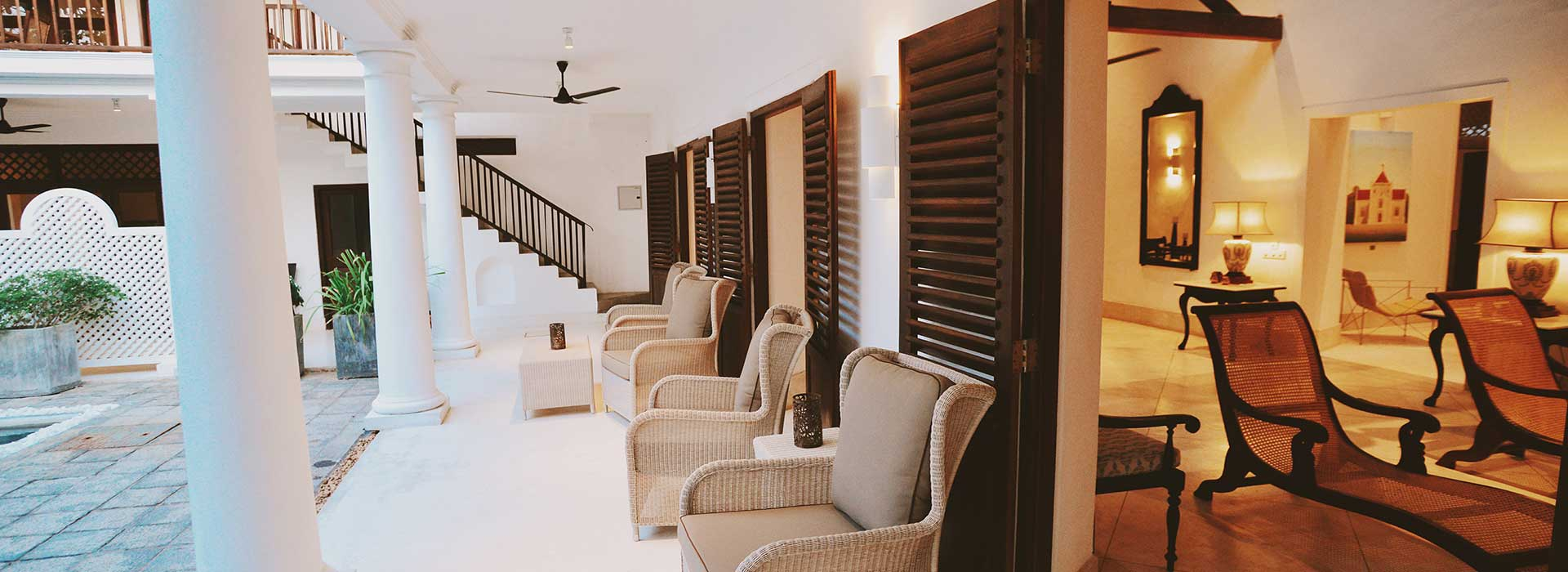 Staying at 32 Middle Street Luxury Boutique Hotel in Galle Fort